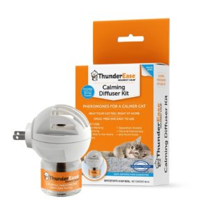 ThunderEase Calming Anti Anxiety Pheromone Diffuser Kit for Cats