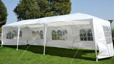 How to setup outdoor party tent